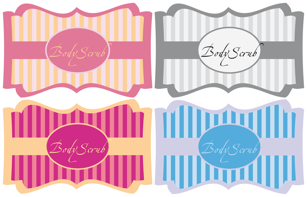 image regarding Printable Sugar Scrub Labels titled homemade Human body Scrub + Cost-free printable Labels It was Weekend