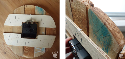 Make your own clock from old planks « Midsommarflicka   So, it was weekend. And I was bored.