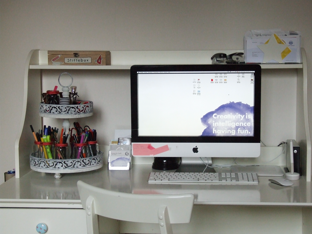 Organizing My Desk At Least A Try It Was Weekend