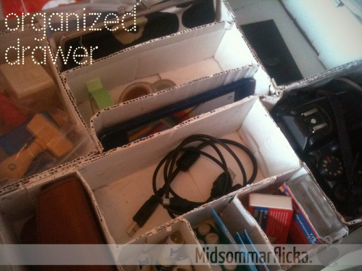 organized drawer « Midsommarflicka | So, it was weekend. And I was bored.