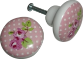 rose knobs « Midsommarflicka | So, it was weekend. And I was bored.