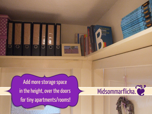 creating more storage space in the height « Midsommarflicka | So, it was weekend. And I was bored.