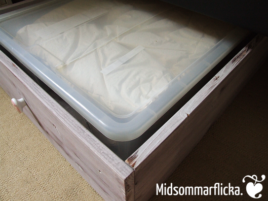 Under the bed storage build after Pinterest inspiration « Midsommarflicka | So, it was weekend. And I was bored.