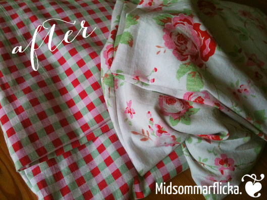 sewing a new cover for grainpillows! « Midsommarflicka | So, it was weekend. And I was bored.