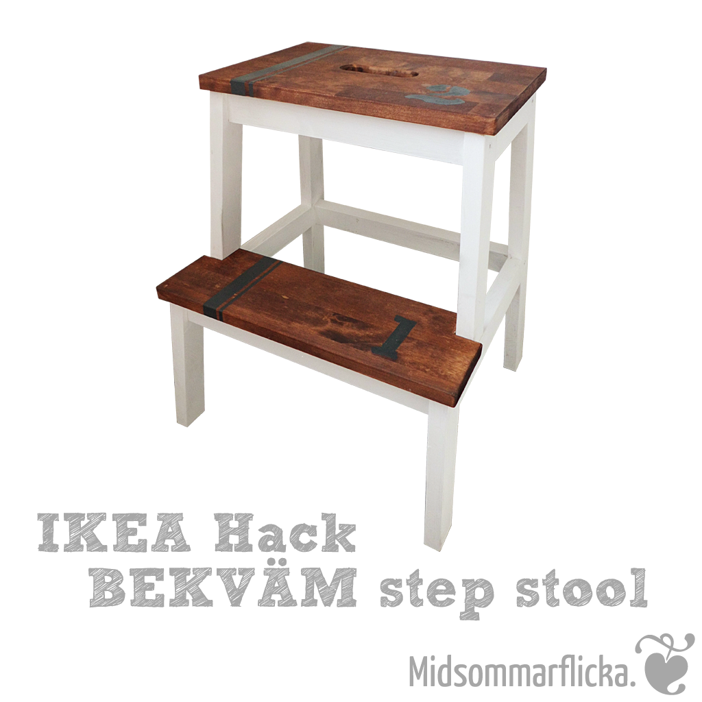 ikea hack bekv m step stool midsommarflicka so it was weekend