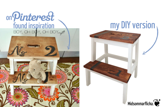IKEA Hack BEKVÄM step stool « Midsommarflicka | So, it was weekend. And I was bored.