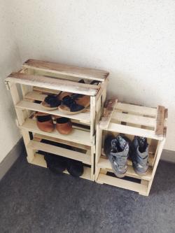 Wine Crate Shoe Storage « Midsommarflicka