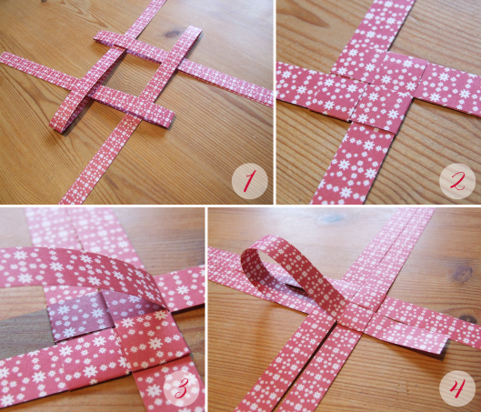 How to fold a German { Froebel } Star « Midsommarflicka | So, it was weekend. And I was bored.