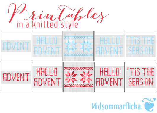 #halloadvent13 Printables « Midsommarflicka | So, it was weekend. And I was bored.