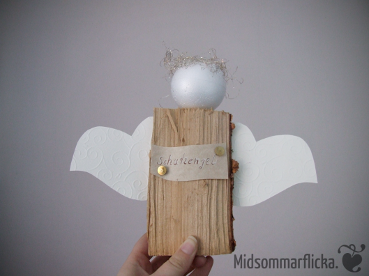 Wood Log Guardian Angel « Midsommarflicka