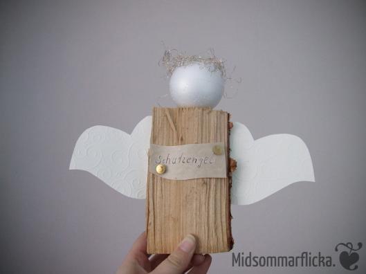 Wood Log Guardian Angel « Midsommarflicka