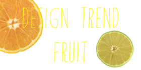 Design Trend: Fruit!