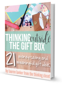 Thinking Outside The Gift Box @thinkingcloset